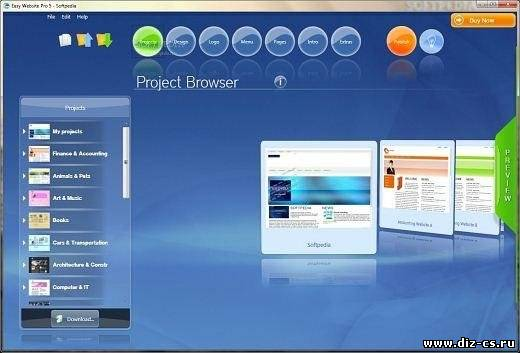 PhotonFX Easy Website Pro 5.0.8 (2011/Eng) Unlimited
